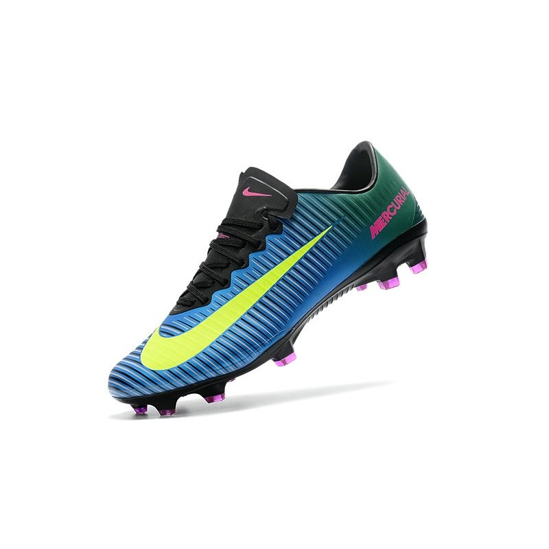ccbef19d7ee Nike Mercurial Vapor XI FG Soccer Cleats On Sale Blue Volt Pink