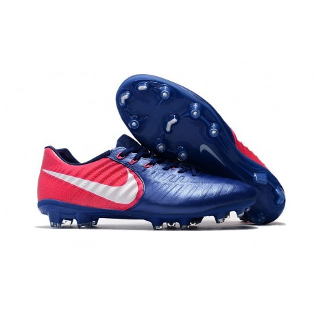 Football Cleats Nike Tiempo Legend VII FG - Blue Pink