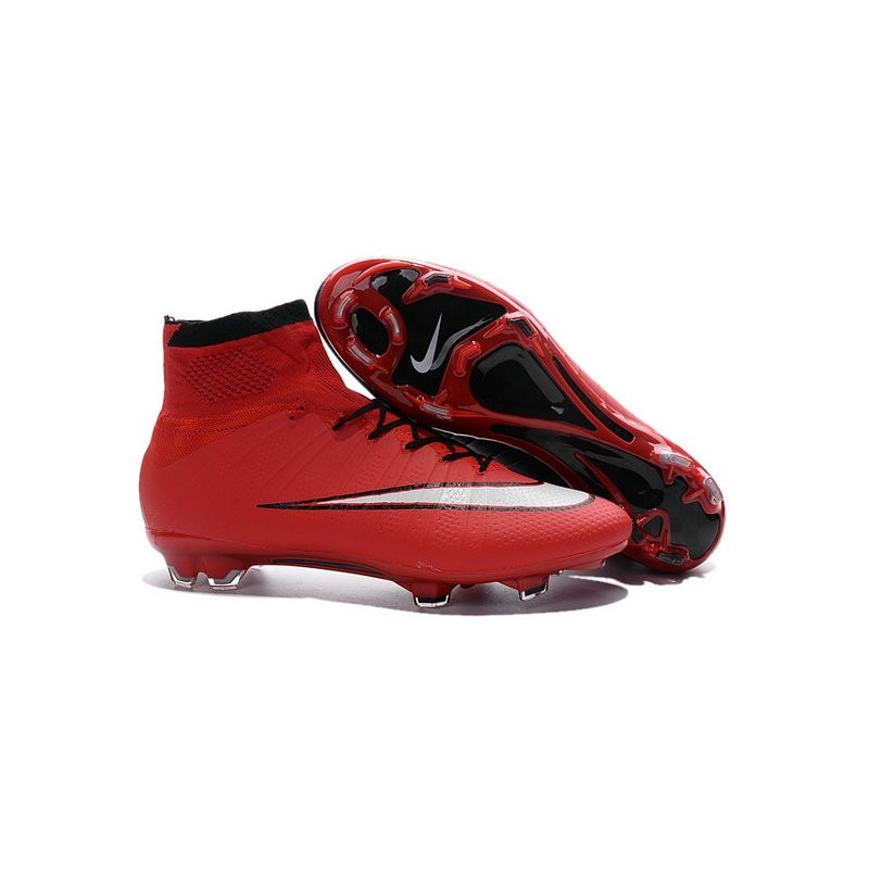 size 40 8cab8 6115e Best Nike Men s Mercurial Superfly IV FG Football Cleats Red Black White