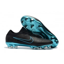Nike Mercurial Vapor Flyknit Ultra FG - Nike New Cleats Black Blue