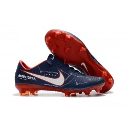 2017 New Shoes - Nike Mercurial Vapor XI FG Blue Red