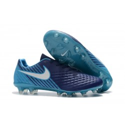 Sale - Nike Magista Opus II FG Men's Soccer Cleats Blue White