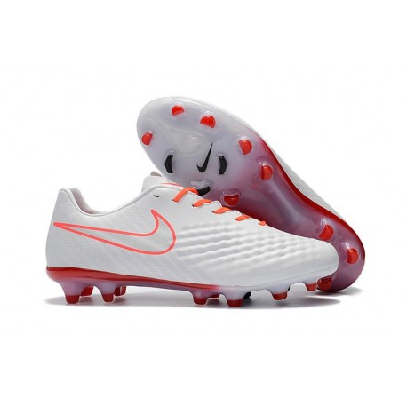 Nike Magista Opus II FG - New Football Shoes White Orange