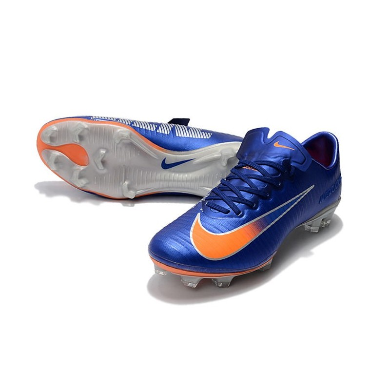 hot sale online 098a2 fa6e8 nike mercurial vapor v fg orange silver
