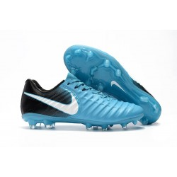 Soccer Shoes For Men Nike Tiempo Legend 7 FG - Blue White Obsidian Glacier Blue