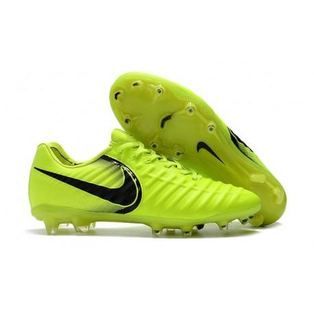 Football Cleats Nike Tiempo Legend VII FG - Volt Black