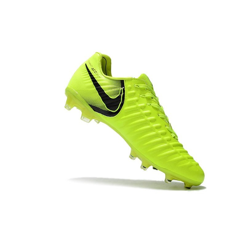 Football Cleats Nike Tiempo Legend VII FG - Volt Black Maximize. Previous.  Next