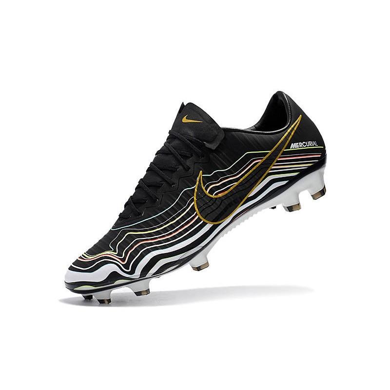 a41a37b7e New Shoes - Nike Mercurial Vapor XI FG For Men Black White Gold