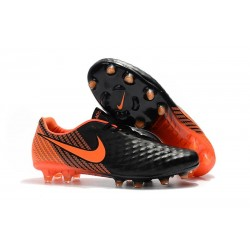 Sale - Nike Magista Opus II FG Men's Soccer Cleats Black White University Red
