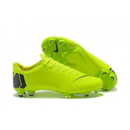 New Football Shoes - Nike Mercurial Vapor XII Pro FG Green Black