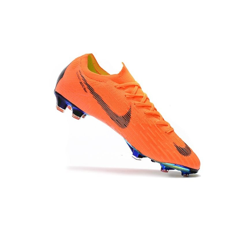 Football Boots for Men - Nike Mercurial Vapor XII 360 Elite FG Total Orange  Black Volt 3c9361be8