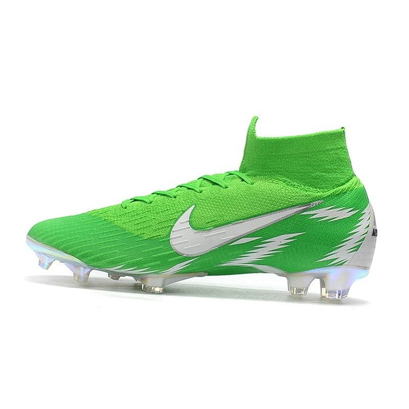 a949ec7f85bf clearance silver green mens nike mercurial superfly shoes f4b6a 9c9a9