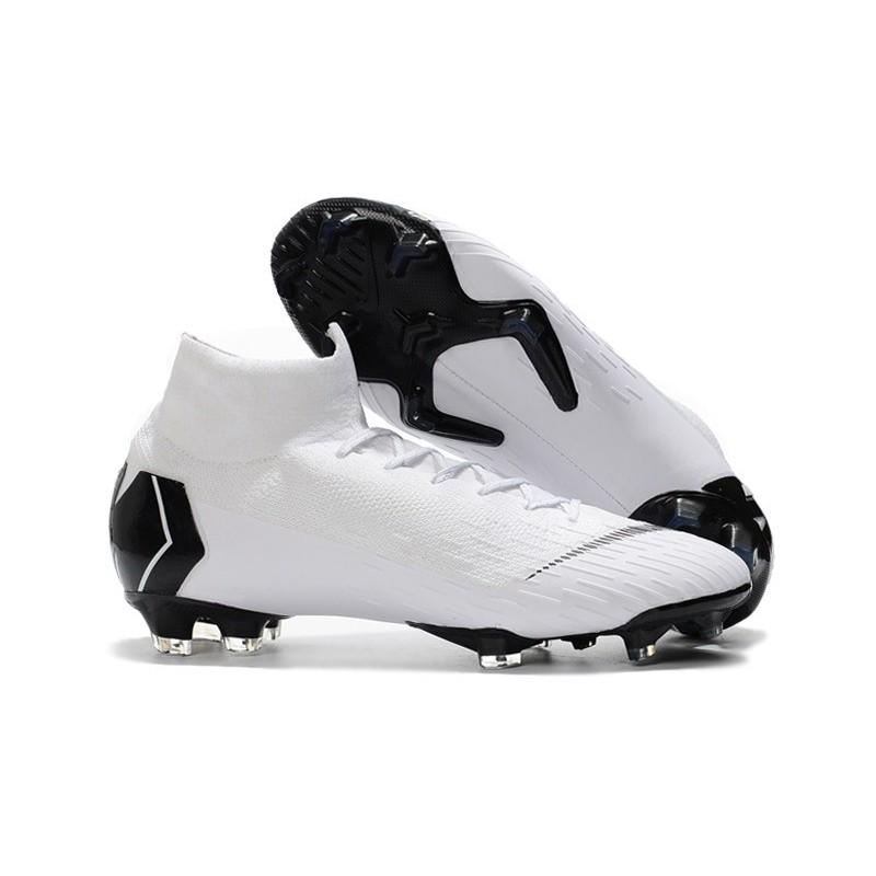 low priced 6b01c 8e87f Soccer Shoes For Men - Nike Mercurial Superfly 6 Elite FG White Black