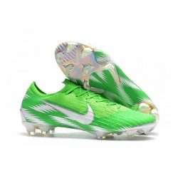 Football Boots for Men - Nike Mercurial Vapor XII 360 Elite FG Green Silver
