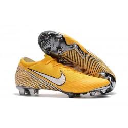 Football Boots for Men - Nike Mercurial Vapor XII 360 Elite FG Amarillo White Black