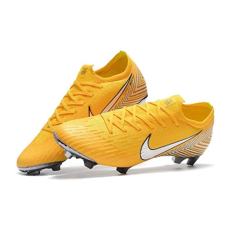4add4f5034fe ... football boots for men nike mercurial vapor xii 360 elite fg amarillo white  black