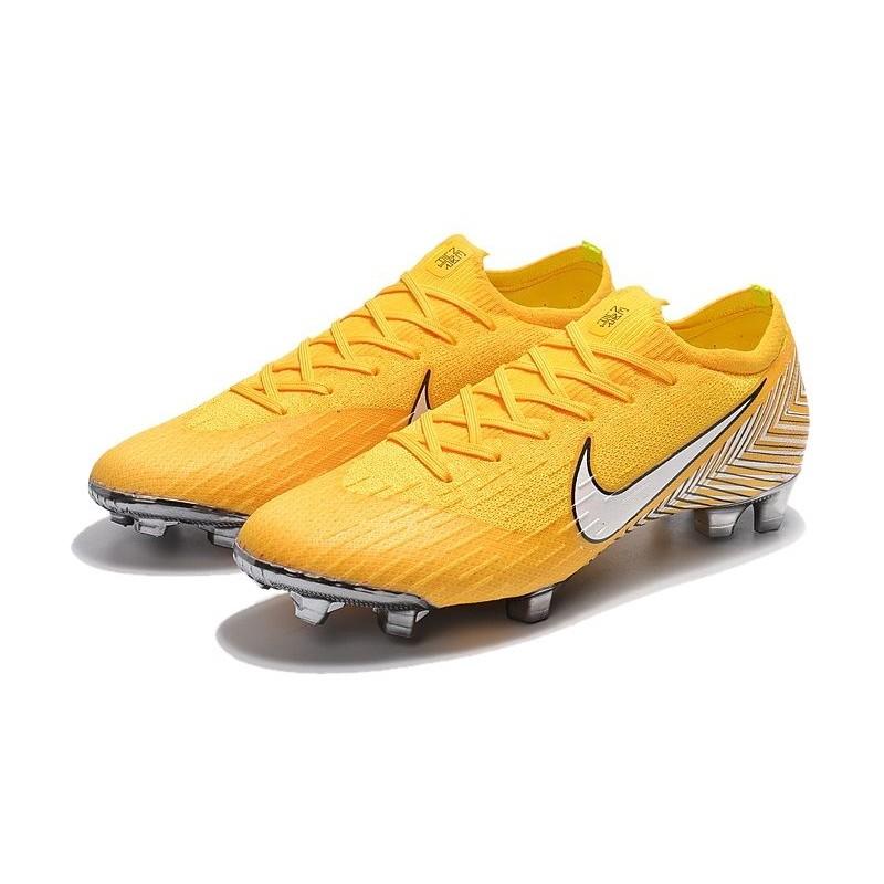 211e348996431 ... norway football boots for men nike mercurial vapor xii 360 elite fg  amarillo white black 2e658