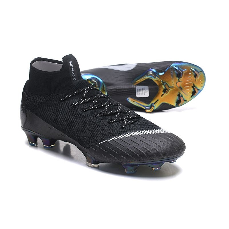 sports shoes a3d5f ee9b4 Cheap Nike Mercurial Superfly 6 Elite FG For Sale - Black White