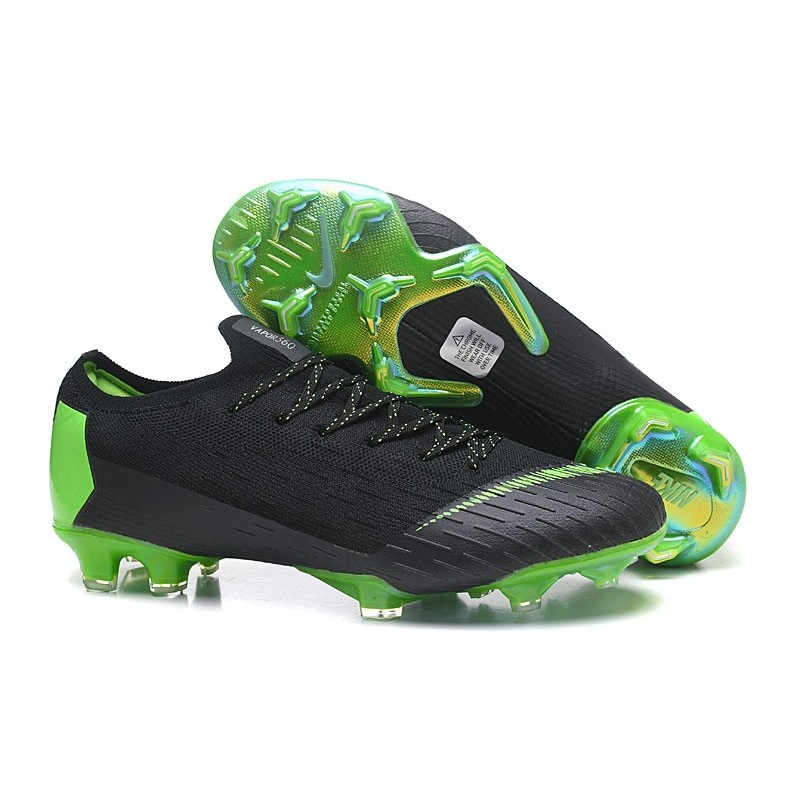 68c35c0dc CR7 Soccer Cleats - Nike Mercurial Vapor XII 360 Elite Firm-Ground Clear  Jade Metallic ...
