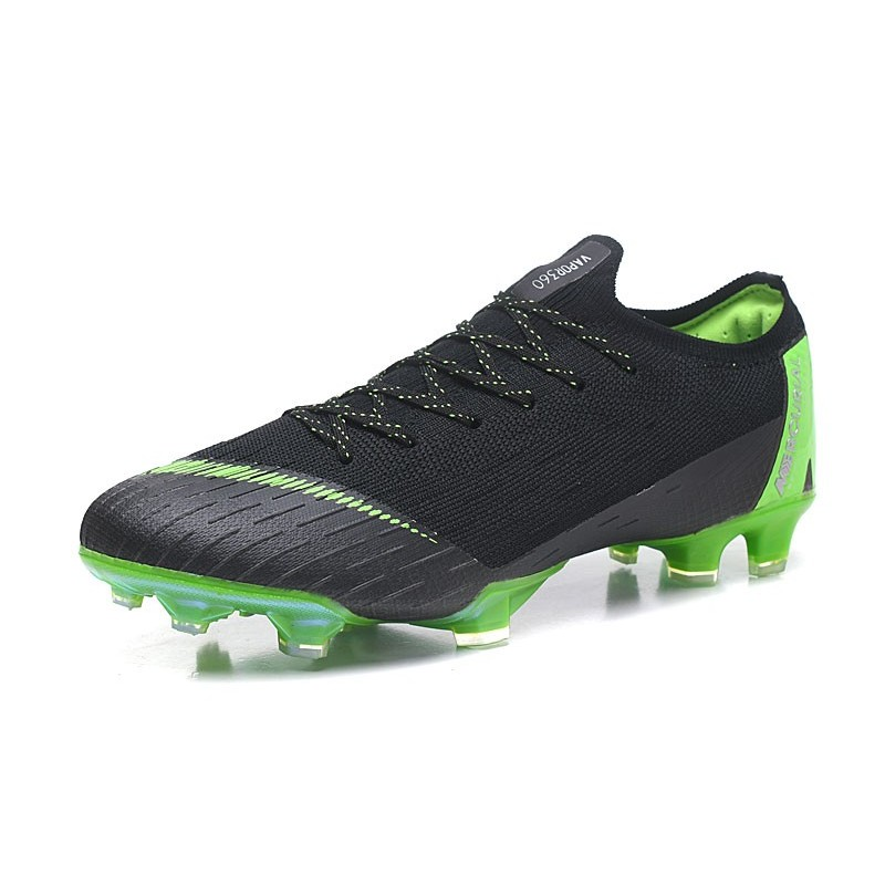 249f17d7a0c ... CR7 Soccer Cleats - Nike Mercurial Vapor XII 360 Elite Firm-Ground  Clear Jade Metallic