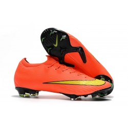 Nike Mercurial Vapor XII 360 Elite FG Boots For Sale - Orange Yellow