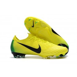 Cheap Nike Mercurial Vapor XII 360 Elite Firm-Ground Yellow Volt Black