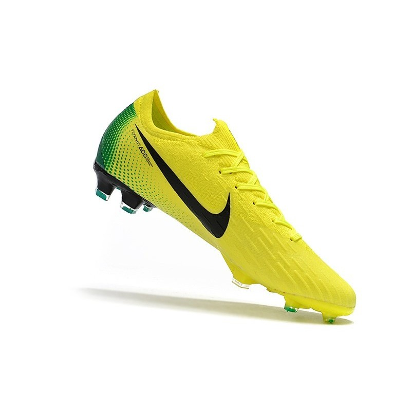 b8e9b699d ... CR7 Soccer Cleats - Nike Mercurial Vapor XII 360 Elite Firm-Ground  Clear Jade Metallic ...