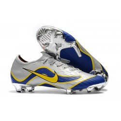 Nike Mercurial Vapor XII 360 Elite FG Boots For Sale - Silver Blue Yellow