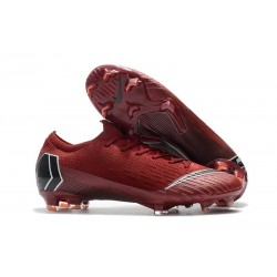 Football Boots for Men - Nike Mercurial Vapor XII 360 Elite FG Red Black