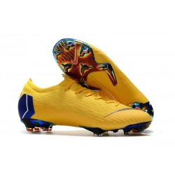 Football Boots for Men - Nike Mercurial Vapor XII 360 Elite FG Yellow Blue