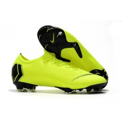 Football Boots for Men - Nike Mercurial Vapor XII 360 Elite FG Fluorescent Yellow