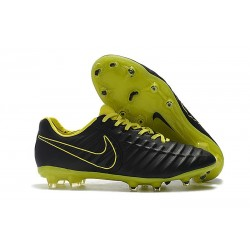 Soccer Shoes For Men Nike Tiempo Legend 7 FG - Black Yellow