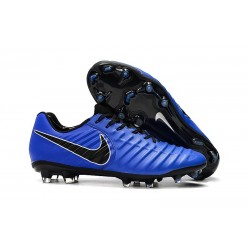 Soccer Shoes For Men Nike Tiempo Legend 7 FG - Blue Black