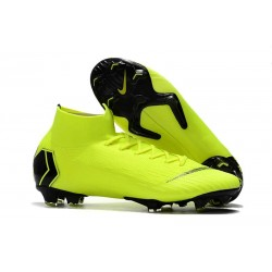 Soccer Shoes For Men - Nike Mercurial Superfly 6 Elite FG Fluorescent Yellow