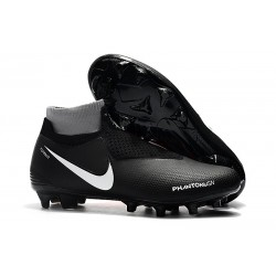 New! Soccer Cleats Nike Phantom Vision Elite DF FG Black Red White