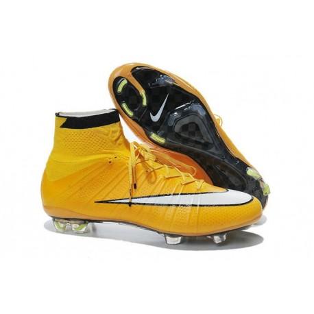 Nike Men's 2016 - Mercurial Superfly 4 FG Soccer Shoes Laser Orange White Black