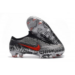 Football Boots for Men - Nike Mercurial Vapor XII 360 Elite FG Neymar Black White Red