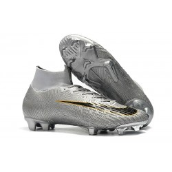 Nike Mercurial Superfly 360 Elite FG News Silver Black