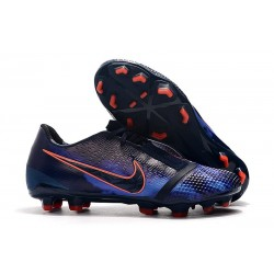 New Nike Phantom Venom Elite FG Cleat Obsidian White Racer Blue