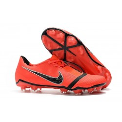 New Nike Phantom Venom Elite FG Cleat Bright Crimson Black