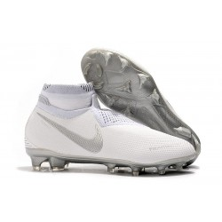 Nike Phantom VSN Elite DF FG Mens Boot White