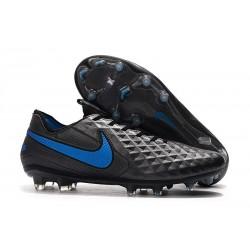 Soccer Boots Nike Tiempo Legend 8 FG Black Blue