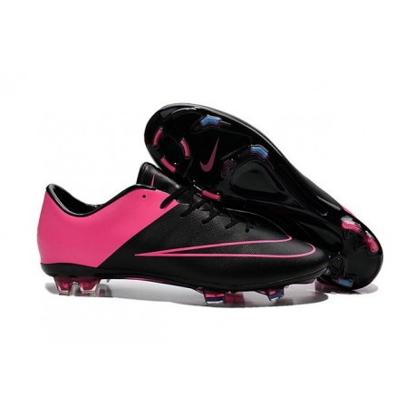2016 Best Shoes - Nike Mercurial Vapor X FG Black Hyper Pink