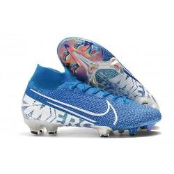 Nike Mercurial Superfly VII Elite FG Boots Blue Hero White