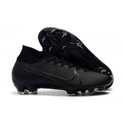 Nike Mercurial Superfly VII Elite FG Black Boots -Under The Radar