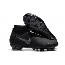 New! Soccer Cleats Nike Phantom Vision Elite DF FG All Black