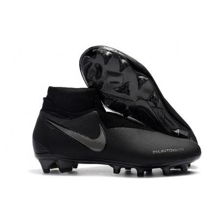 New! Soccer Cleats Nike Phantom Vision Elite DF FG All Black