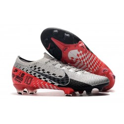 Nike Mercurial Vapor 13 Elite FG NJR Chrome Red Orbit Black