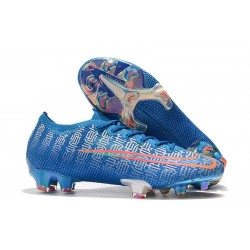 Nike Mercurial Vapor 13 Elite FG Blue Red