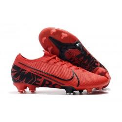 Nike Mercurial Vapor 13 Elite FG Red Black